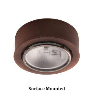 Copper Bronze Xenon Button Light