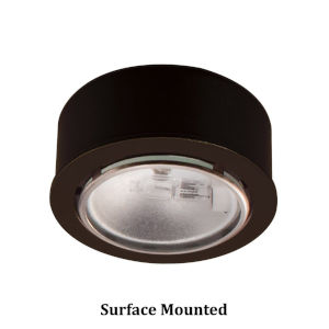 Dark Bronze Xenon Button Light