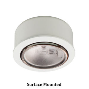 White Halogen Button Light
