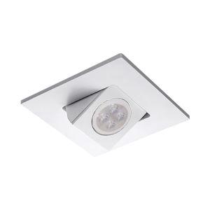 White LED Square Adjustable Directional Trim