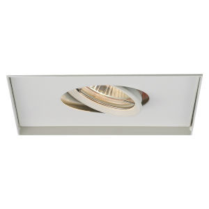 White One-Light-Inch Low Voltage Multiples Trim