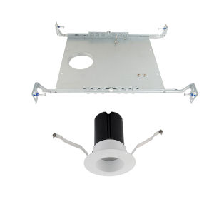 Ion White LED Round Recessed Light Kit