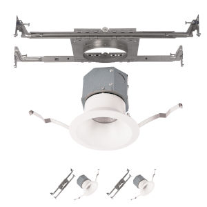Pop-in White Nine-Inch LED ADA Recessed Downlight, Pack of 2