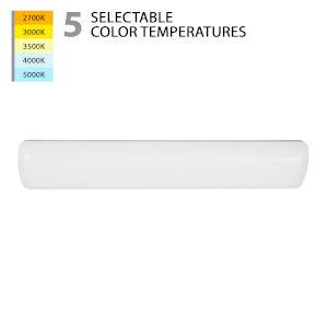 Flo White 36-Inch LED Bath Bar Vanity