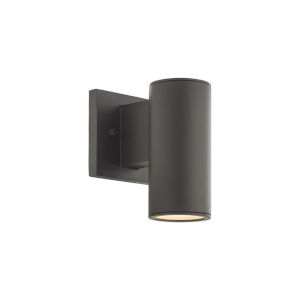 Cylinder Bronze LED Wall Sconce