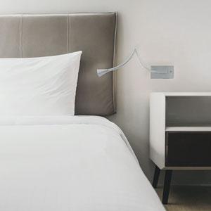 Stretch Titanium Three-Inch LED Wall Sconce