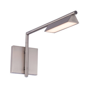 Eero Brushed Nickel LED Swing Arm Wall Light