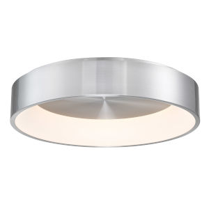 Corso Brushed Aluminum 23-Inch LED Flush Mount