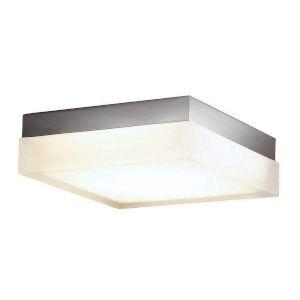 Dice Brushed Nickel Six-Inch LED Flush Mount