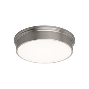 York Brushed Nickel 8-Inch LED Flush Mount