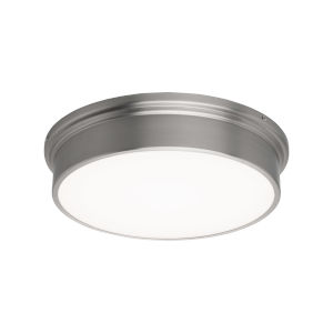 York Brushed Nickel 12-Inch LED Flush Mount