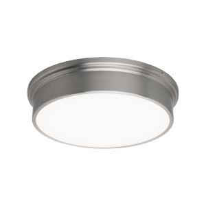 York Brushed Nickel 12-Inch LED Flush Mount