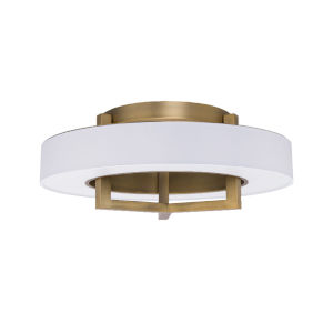 Madison Aged Brass 22-Inch LED Flush Mount