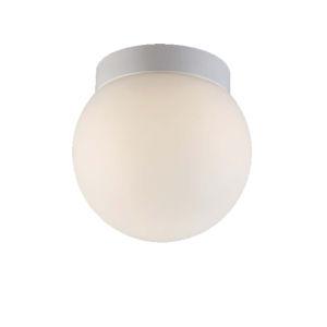 Niveous White Six-Inch 3500K LED Outdoor Flush Mount