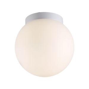 Niveous White Nine-Inch 2700K LED Outdoor Flush Mount