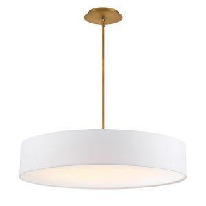 Manhattan Aged Brass 26-Inch LED Pendant