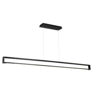 Lune Black LED Linear Linear Pendant