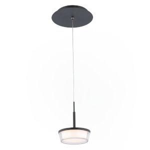 Vodus Black Five-Inch LED Mini Pendant