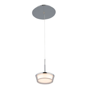 Vodus Chrome Five-Inch LED Mini Pendant