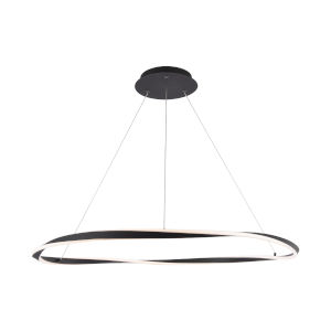 Eternal Black LED Pendant