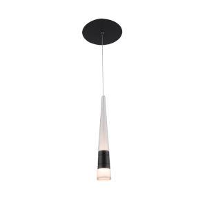 Twinkle-Twinkle Black Two-Inch LED Mini Pendant