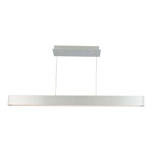 Volo Brushed Aluminum 44-Inch LED Linear Pendant