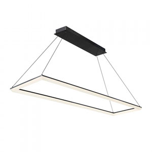 Frame Black 58-Inch LED Pendant