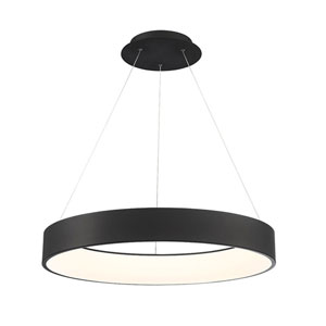 Corso Black 31-Inch LED Pendant
