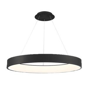 Corso Black 42-Inch LED Pendant