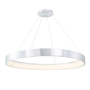 Corso Brushed Aluminum 53-Inch LED Pendant