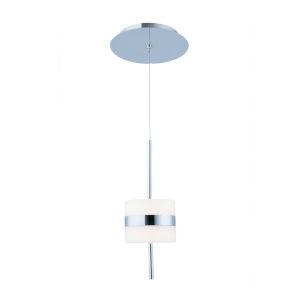 Smore Chrome Four-Inch LED Mini Pendant