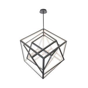 Atlas Black 26-Inch LED Chandelier