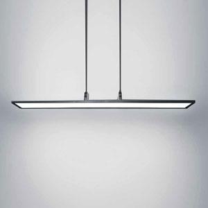 Line Black 48-Inch LED Chandelier