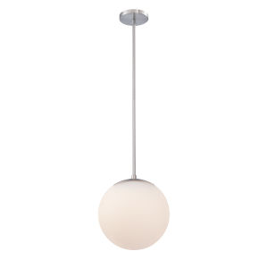Niveous Brushed Nickel 10-Inch 2700K LED Pendant