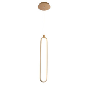 Charmed Soft Gold One-Inch LED Mini Pendant