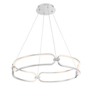 Charmed Brushed Nickel 23-Inch LED Pendant