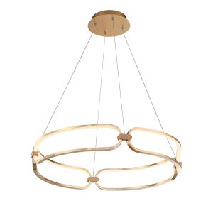 Charmed Soft Gold 23-Inch LED Pendant