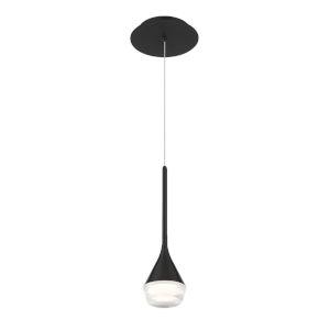 Blast Off Black LED Mini Pendant