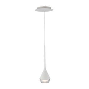 Blast Off White LED Mini Pendant