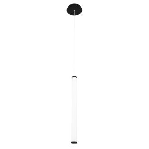 Flare Black 25-Inch 3000K LED Mini Pendant
