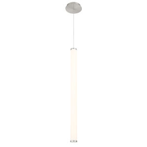 Flare Brushed Nickel Two-Inch 3000K LED Mini Pendant