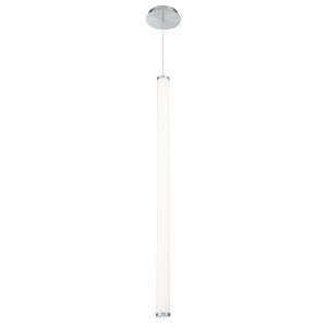 Flare Brushed Nickel 45-Inch 3000K LED Mini Pendant