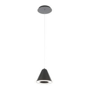 Kone Black LED Mini Pendant