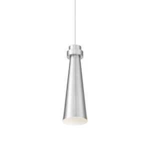 Future Brushed Nickel LED Mini Pendant