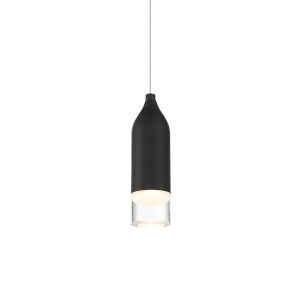 Action Black LED Mini Pendant
