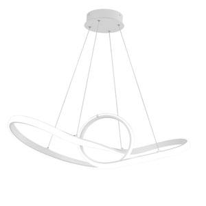 Vornado White 35-Inch LED Pendant