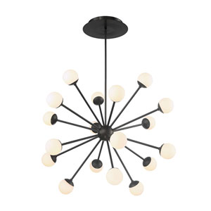 Bossa Nova Black 54-Inch LED Pendant