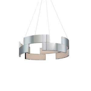 Trap Chrome 20-Inch LED Pendant