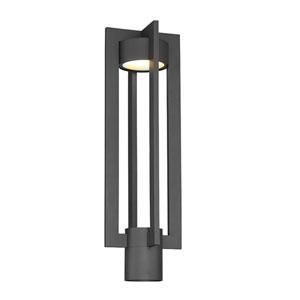 Chamber Black 15-Inch LED Post Light