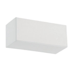 Bric White Seven-Inch 2700K LED Wall Sconce